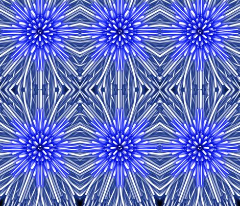 Bursting Beauties #1 fabric by gethugged on Spoonflower - custom fabric