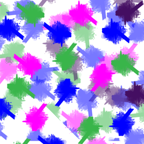 Splatter Me Happy fabric by mommy_brain_art on Spoonflower - custom fabric