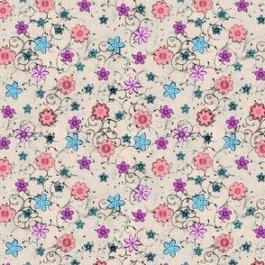 Folksy Flowers