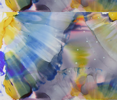 Sunflowers Go Wild fabric by rphilliben on Spoonflower - custom fabric