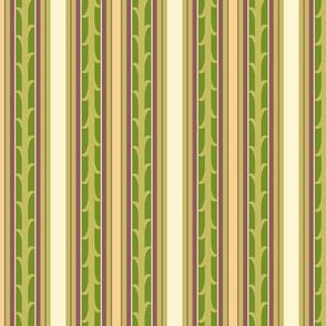 Vines and Stripes - leaf