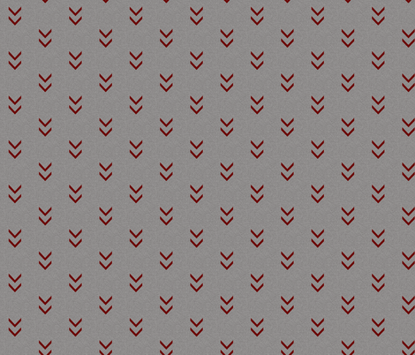 Direction Textured - taupe/maroon fabric by sugarpinedesign on Spoonflower - custom fabric
