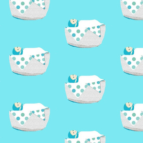 A Polka Dot baby boy