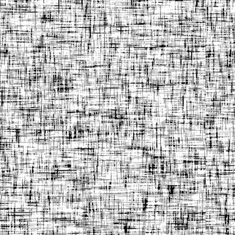 Black on white tweedy linen-weave, LARGE by Su_G fabric by su_g on Spoonflower - custom fabric