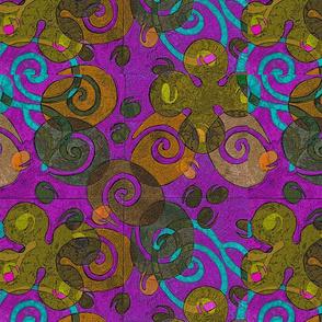 aqua spirals