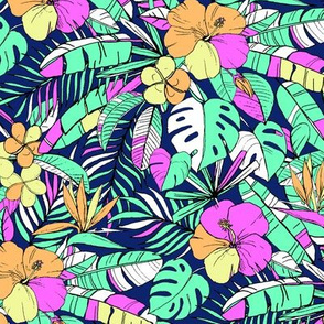 Fun Limited Palette Hawaiian Print
