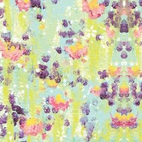 Field of Flowers / Abstract / Painterly
