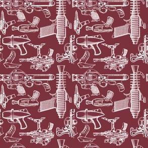 Ray Gun Revival (Maroon) (4x4)