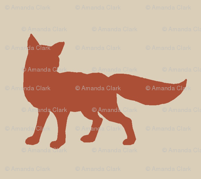 Fox - rust/red