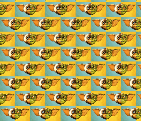 Gremlins - Gizmo fabric by drgnfly86 on Spoonflower - custom fabric