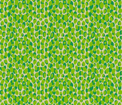 leaf relief - spring/lime/sand fabric by cinneworthington on Spoonflower - custom fabric