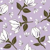 Cotton Flower Lilac