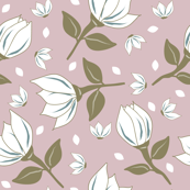 Cotton Flower Pale Pink