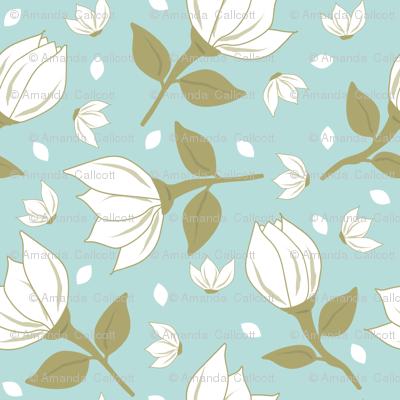 Cotton Flower Mint