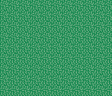 Stems Green - Small fabric by khubbs on Spoonflower - custom fabric