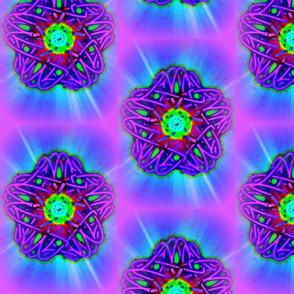 Star Flower Neon