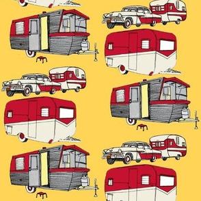 Nifty Fifties Summer Camper Trailer
