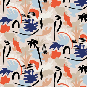 Tropical summer_leaves_pattern