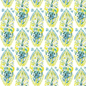 Yellow Abstract (Karen)