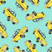 Yellow Cars