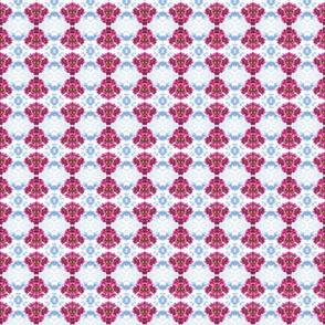 Bougainvillea Hot Pink Motif