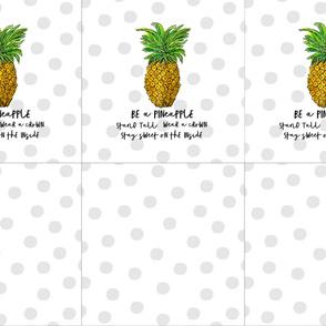 Pineapple Pillows 18x18 Pattern
