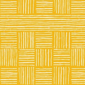 Retro Grace Stripes - Mustard - Small
