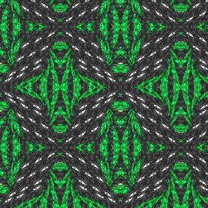In the Green - Abstract Motif