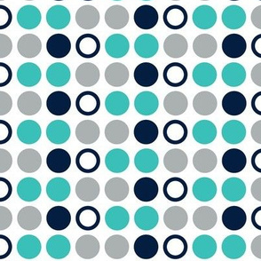 Polka dots // surfer's cove