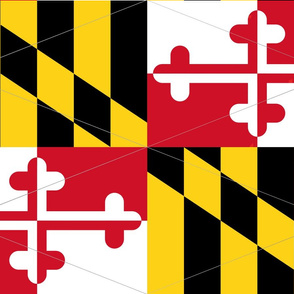Maryland Flag Pennants