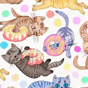 Sprinkles on Donuts and Whiskers on Kittens - large
