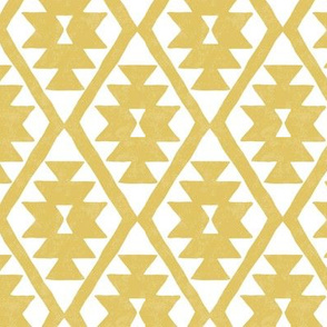 southwestern diamond - cream gold