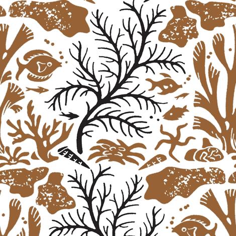 Coral Reef 1d fabric by muhlenkott on Spoonflower - custom fabric