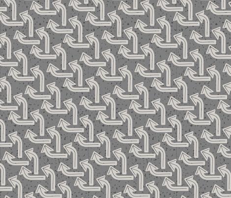 Street Arrows fabric by mrshervi on Spoonflower - custom fabric