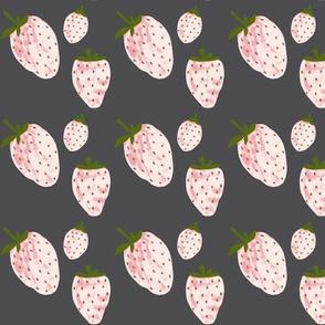 midnight garden pale pink strawberries