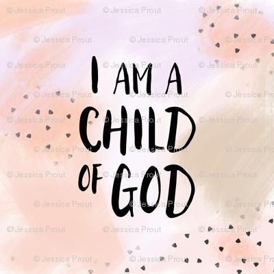 "18"" i am a child of God || blush"