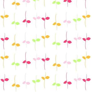 Leaves - pink crush