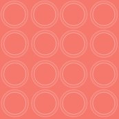 Circle_rings_in_subtle_white_with_strong_coral_background_shop_thumb
