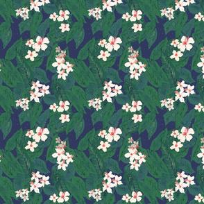 Palm & Hibiscus