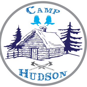 Camp Hudson Patch Blanket