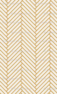 White Golden Weave