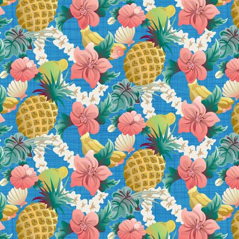 Hawaiian_Half_Drop fabric by julistyle on Spoonflower - custom fabric