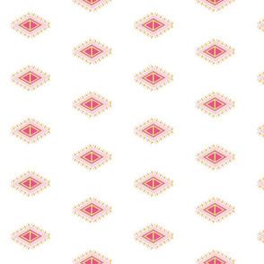 Aztec Quilt-pink crush