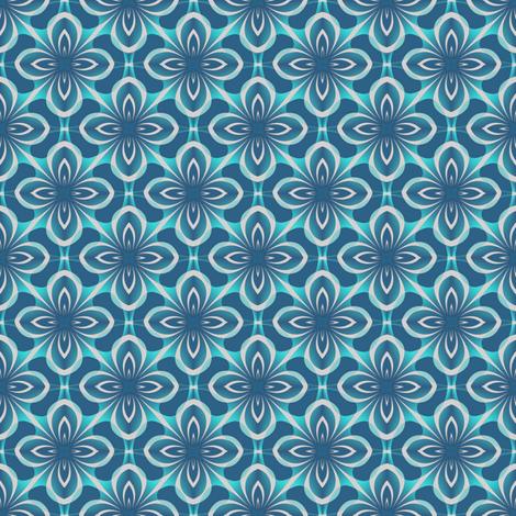 Seamless Blue-green  fabric by missourah_gal on Spoonflower - custom fabric