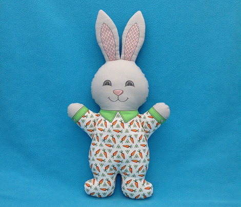Bunny in Pajamas