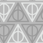 Pastel Potter - Dark Gray/Light Gray Deathly Hallows