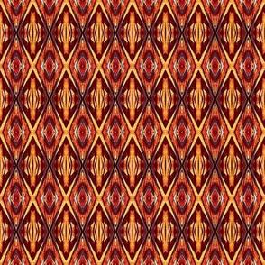 Drum Design Orange and Brown
