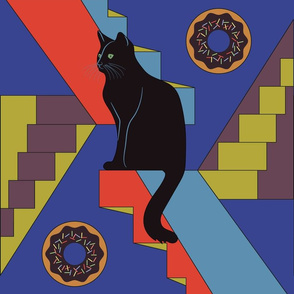 Black_Cat_& Donuts
