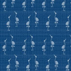 Navy Cranes
