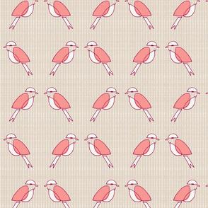 Pink MCM Birds